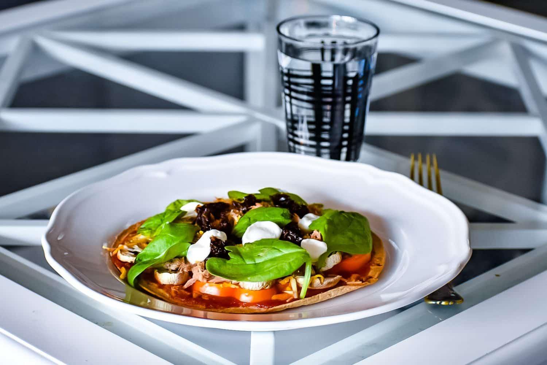 Recept snabb och nyttig vardagspizza