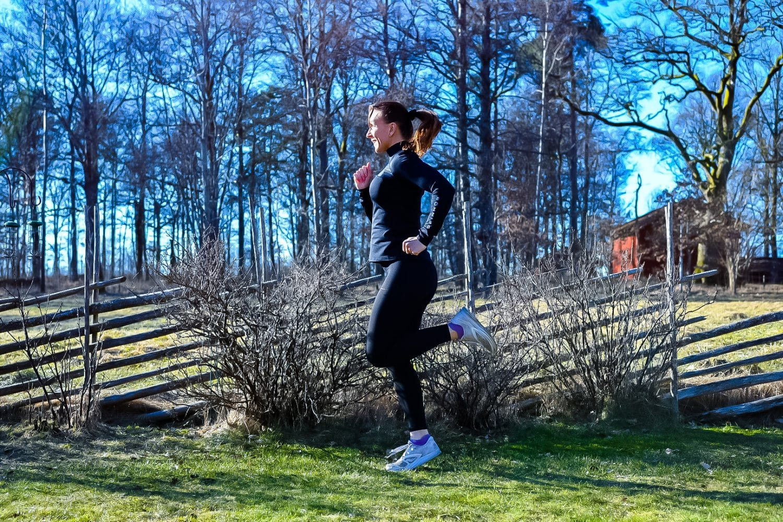 Filmat pass- löpteknik och löpskolning